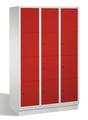Select Wertsachenschrank 1-100298, mit Sockel 3x4 Fächer, Abteilbreite 400mm, | günstig bestellen bei assistYourwork