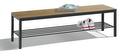 Sitzbank Basic Plus 8061-010, Breite 1500 mm, HxT 401x353 mm, Feuchtraumausführung | günstig bestellen bei assistYourwork