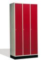 Intro Schließfachschrank 8170-301 3 Abteile, HxBxT 1950x920x480-500mm | günstig bestellen bei assistYourwork