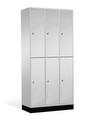 Intro Großraum-Schließfachschrank 8270-302 6 Fächer, HxBxT 1950x1220x490mm | günstig bestellen bei assistYourwork