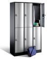 Select Resisto Großraum-Schließfachschrank 1-100510 6 Fächer, HxBxT 1950x1150x540mm | günstig bestellen bei assistYourwork