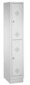 Spind 8320-10, doppelstöckig, mit Sockel 1x2 Abteile übereinander, Abteilbreite 300mm | günstig bestellen bei assistYourwork