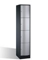 Select Resisto Schließfachschrank 1-100496 4 Fächer, HxBxT 1950x396x540mm | günstig bestellen bei assistYourwork