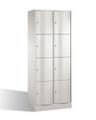 Select Resisto Schließfachschrank 1-100497 8 Fächer, HxBxT 1950x770x540mm | günstig bestellen bei assistYourwork