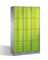 Select Resisto Schließfachschrank 1-100498 12 Fächer, HxBxT 1950x1150x540mm | günstig bestellen bei assistYourwork