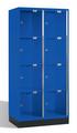 Intro Großraum-Schließfachschrank 8470A202 Acrylglastüren, 8 Fächer, 1750mm hoch | günstig bestellen bei assistYourwork