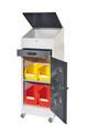 Arbeitsschrank 1 Plus mobil 1801.06.3016 HxBxT 1200x500x500mm | günstig bestellen bei assistYourwork