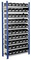 Steckregal Modell 11 5201.02.2108 Grundfeld HxB 2000x1000 mm, 60 Lagersichtkästen | günstig bestellen bei assistYourwork