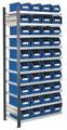 Steckregal Modell 13 5203.01.2208 Anbaufeld HxB 2000x1000 mm, 40 Lagersichtkästen | günstig bestellen bei assistYourwork