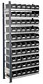 Steckregal Modell 11 5203.02.2108 Anbaufeld HxB 2000x1000 mm, 60 Lagersichtkästen | günstig bestellen bei assistYourwork