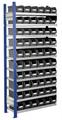 Steckregal Modell 10 5203.01.2108 Anbaufeld HxB 2000x1000 mm, 60 Lagersichtkästen | günstig bestellen bei assistYourwork