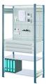 ®RasterPlan Steckregal mit Ausstattung Modell 3 Grundfeld H 2000 x B 1000 x T 500 mm | günstig bestellen bei assistYourwork
