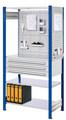 ®RasterPlan Steckregal mit Ausstattung Modell 4 Grundfeld H 2000 x B 1000 x T 500 mm | günstig bestellen bei assistYourwork
