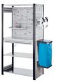 ®RasterPlan Steckregal mit Ausstattung Modell 6 Grundfeld H 2000 x B 1000 x T 500 mm | günstig bestellen bei assistYourwork