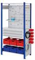 ®RasterPlan Steckregal mit Ausstattung Modell 8 Grundfeld H 2000 x B 1000 x T 500 mm | günstig bestellen bei assistYourwork