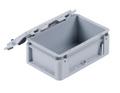 KAPPES Euro-Transportbehälter Verschlussdeckel mit Scharnier 300 x 200 mm | günstig bestellen bei assistYourwork