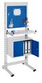 ErgoPlus® Steharbeitsplatz Modell 3, schmales Gestell, mit Bodenausgleichsfüßen | günstig bestellen bei assistYourwork