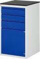 Schubladenschrank A3-L7.2I-M, 2x120, 1x150, 1x540 Tür, Tragkraft 100 kg | günstig bestellen bei assistYourwork