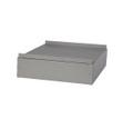 Zubehör: Sockel Stahlblech W380 für Modell EUROSTYLE mit der Breite 380 mm | günstig bestellen bei assistYourwork