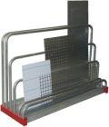 Tafelregal für Reststücke,1600x1000x480mm, mit 5 Fächern | günstig bestellen bei assistYourwork