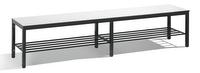 Sitzbank Basic Plus 8062-010, Breite 1960 mm, HxT 401x353 mm, Feuchtraumausführung | günstig bestellen bei assistYourwork