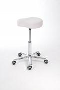Drehhocker mit Sitzschale aus Kunstleder | günstig bestellen bei assistYourwork