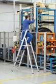 Stehleiter 41632, 3 Stufen, einseitig begehbar, Modell Meistertritt S | günstig bestellen bei assistYourwork