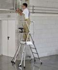 ZAP Plattformleiter 42493, 3 Stufen, Z300  | günstig bestellen bei assistYourwork