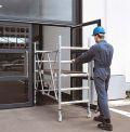 Klappgerüst 53400, Gerüsthöhe 1,65 m, Plattform 1,20 x 1,80 m, Modell CompactMaster 2T | günstig bestellen bei assistYourwork