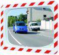 Verkehrsspiegel 600x400mm, mit rot-weißem Rahmen | günstig bestellen bei assistYourwork