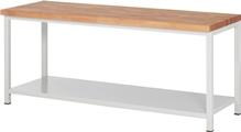 Werkbank Serie Basic mit Ablageboden HxBxT: 840 x 2000 x 700 mm | günstig bestellen bei assistYourwork