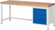 Werkbank Serie Basic HxBxT: 840 x 2000 x 700 mm | günstig bestellen bei assistYourwork