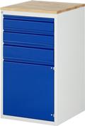 Schubladenschrank A3-L7.2I-B, 2x120, 1x150, 1x540 Tür, Tragkraft 100 kg | günstig bestellen bei assistYourwork