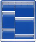 Schubladen-Einteilungs-Set-L HxBxT-80 x 490 x 560 mm | günstig bestellen bei assistYourwork