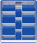 Schubladen-Einteilungs-Set A9-20 HxBxT-80 x 490 x 560 mm | günstig bestellen bei assistYourwork