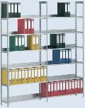 Schraubregal Grundfeld, 8 Böden 2550 x 750 x 300 mm | günstig bestellen bei assistYourwork