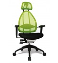 Bürodrehstuhl Open Future inkl. 3D-T Armlehnen + Kopfstütze | günstig bestellen bei assistYourwork