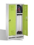 S 3000 EVOLO Kindergartenspind 2 Abteile, 1300x610x300mm, Sockel | günstig bestellen bei assistYourwork