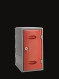 Kunststoff-Fächerschrank für Innen- und Außenbereich, 600 mm hoch | günstig bestellen bei assistYourwork