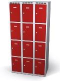 Fächerschrank doppelwandige Türen 12 Fächer HxBxT: 1920 x 900 x 550 mm | günstig bestellen bei assistYourwork