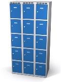 Fächerschrank doppelwandige Türen 15 Fächer HxBxT: 1920 x 900 x 500 mm | günstig bestellen bei assistYourwork