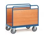 FETRA Ballenwagen 2541, 1000x600mm Traggkraft 600kg, Holzwerkstoff-Wände | günstig bestellen bei assistYourwork