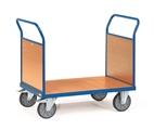 FETRA Doppel-Stirnwandwagen 2522, 1000x700mm Tragkraft 600kg, mit Wänden aus Holz | günstig bestellen bei assistYourwork