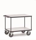 FETRA ESD-Tischwagen 9400, 850x500mm Tragkraft 500kg, mit 2 Böden | günstig bestellen bei assistYourwork