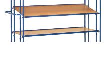 FETRA Einhängbarer Etagenboden E4195ET, 1250x610mm Tragkraft 80kg | günstig bestellen bei assistYourwork