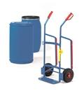 FETRA Fasskarren 2080, 250kg Tragkraft für Kunststofffässer, Vollgummi-Bereifung | günstig bestellen bei assistYourwork