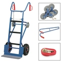 FETRA Gerätekarre 11050, 400kg Tragkraft inkl. Treppensternen, Tragholm + Spanngurt | günstig bestellen bei assistYourwork