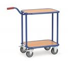 FETRA Griffroller KF33, mit 4 Rädern 2 Holzplattplattformen, Tragkraft 250kg | günstig bestellen bei assistYourwork