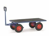 FETRA Handpritschenwagen 6403V, Plattform, 1200x800mm Tragkraft 700kg, Vollgummi-Bereifung | günstig bestellen bei assistYourwork