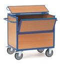 FETRA Holzkastenwagen 2852, 1000x700mm Tragkraft 600kg, mit Deckel | günstig bestellen bei assistYourwork